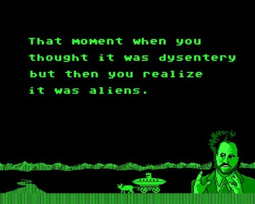 Aliens Oregon Trail meme aliens oregon trail meme kit o'connell approximately 8,000 words,Oregon Trail Meme